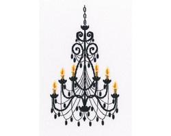 Borduurpakket Luxurious Chandelier - RTO