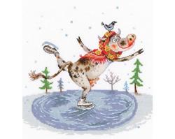 Borduurpakket Graceful Skating - RTO