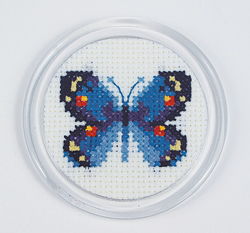 Borduurpakket Butterfly with Magnetic Frame - RTO