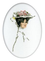 Borduurpakket Victorian Lady - RTO