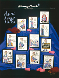 Borduurpatroon Aunt Tizzy Talks - Stoney Creek