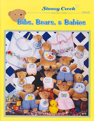 Borduurpatroon Bibs, Bears & Babies - Stoney Creek