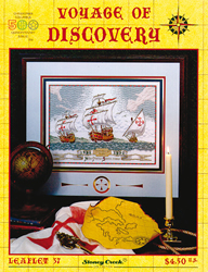 Borduurpatroon Voyage of Discovery - Stoney Creek