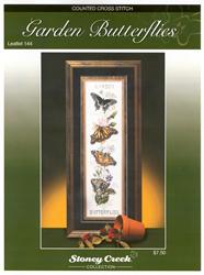 Borduurpatroon Garden Butterflies - Stoney Creek