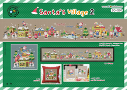 Borduurpatroon Santa's Village 2 - Soda Stitch