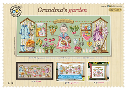 Borduurpatroon Grandma's garden - Soda Stitch