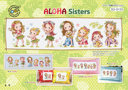 Borduurpatroon Aloha Sisters - Soda Stitch