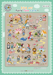 Borduurpatroon Fairy Tale Land 1 - Soda Stitch