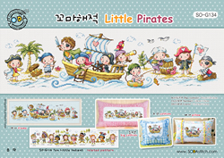 Borduurpatroon Little Pirates - Soda Stitch