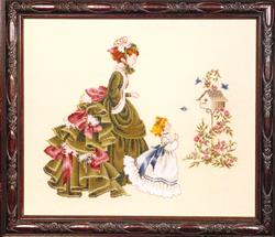 Borduurpatroon Little Wings - TIAG Lavender & Lace