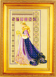 Borduurpatroon Celtic Spring - TIAG Lavender & Lace