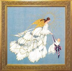 Borduurpatroon Angel of Mercy II - TIAG Lavender & Lace
