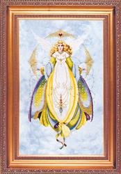 Borduurpatroon Angel of Healing - TIAG Lavender & Lace