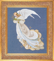 Borduurpatroon Angel of Dreams - TIAG Lavender & Lace