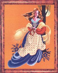 Borduurpatroon Evangeline - TIAG Lavender & Lace
