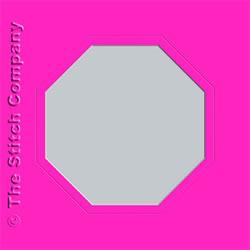 3 Passe-partout kaarten met Envelop Pink - The Stitch Company