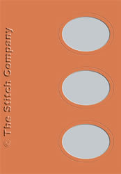3 Passe-partout kaarten met Envelop Terra - The Stitch Company