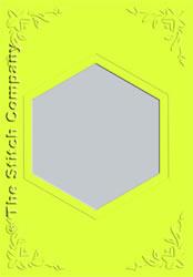 3 Passe-partout kaarten met Envelop Lime - The Stitch Company