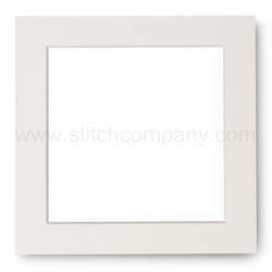 Passe-partout ivoor voor lijst 14 x 14 cm - The Stitch Company