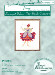 Materiaalpakket Peony - The Stitch Company