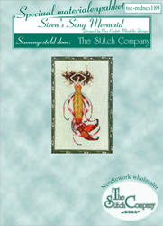 Materiaalpakket Petite Mermaid Collection - Siren's Song Mermaid - The Stitch Company