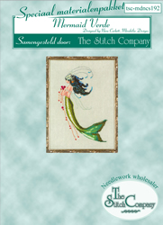 Materiaalpakket Petite Mermaid Collection - Mermaid Verde - The Stitch Company