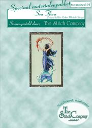 Materiaalpakket Petite Mermaid Collection - Sea Flora - The Stitch Company