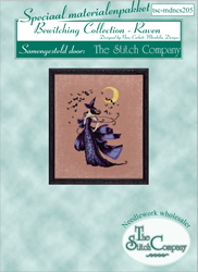 Materiaalpakket Bewitching Collection - Raven - The Stitch Company