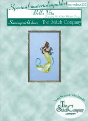 Materiaalpakket Petite Mermaid Collection - Bella Vita - The Stitch Company