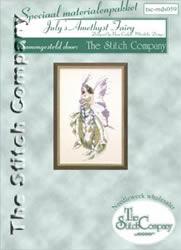 Materiaalpakket July's Amethyst Fairy - The Stitch Company