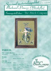 Materiaalpakket Bluebeard's Princess (Mirabella) - The Stitch Company