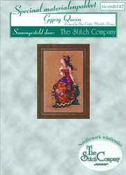 Materiaalpakket The Gypsy Queen - The Stitch Company