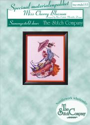 Materiaalpakket Miss Cherry Blossom - The Stitch Company