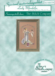 Materiaalpakket Lady Mirabilia - The Stitch Company