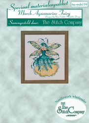 Materiaalpakket March Aquamarine Fairy - The Stitch Company