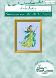 Materiaalpakket Lady Justice - The Stitch Company