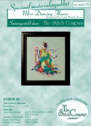 Materiaalpakket Miss Dancing Flower  - The Stitch Company