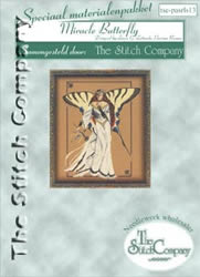 Materiaalpakket Miracle Butterfly - The Stitch Company