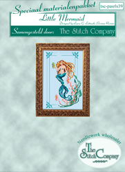 Materiaalpakket Little Mermaid - The Stitch Company