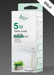 Tafellamp LED Goud - The Stitch Company