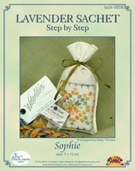 Hardangerpakket Lavender Sachet Sophie - The Stitch Company