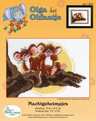 Borduurpakket Nachtgeheimpjes - The Stitch Company