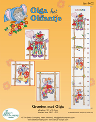 Borduurpakket Groeien met Olga - The Stitch Company