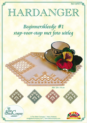 Hardanger Beginnerspakket 1 Geel - The Stitch Company