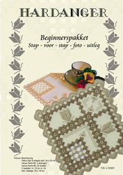 Hardanger Beginnerspakket 1 Beige - The Stitch Company