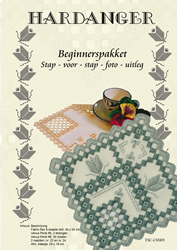 Hardanger Beginnerspakket 1 Blauw - The Stitch Company
