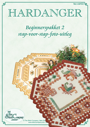 Hardanger Beginnerspakket 2 Terra - The Stitch Company