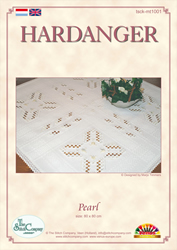 Hardangerpakket Pearl - The Stitch Company