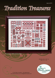 Borduurpakket Tradition Treasures - The Stitch Company