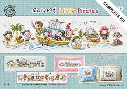 Cross stitch kit Little Pirates - The Stitch Company